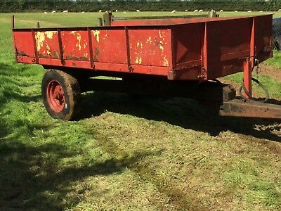 hydraulic farm tipping trailer