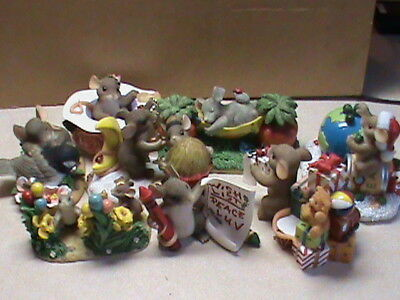 charming tails figurines,10 in the lot ,very cute