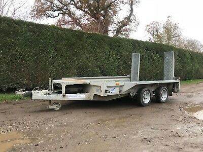 ifor Williams LM146 TRI axle flatbed trailer in sussex* 3500kg* 14x6'6