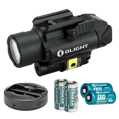 Olight PL-2RL Baldr Weaponlight + Red Laser with 4x Batteries and Charger