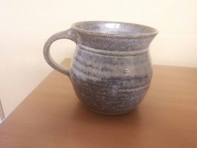 A large claypits  pottery Ewenny mug south Wales