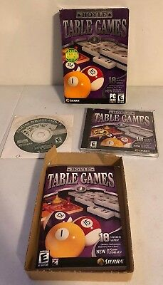 Hoyle Table Games PC CD family Game Collection! M