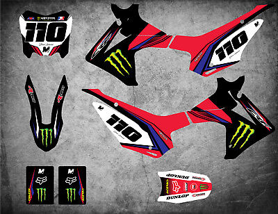 Custom Graphics Full Kit to Fit Honda CRF 110 2013 - 2018 SURGE STYLE stickers
