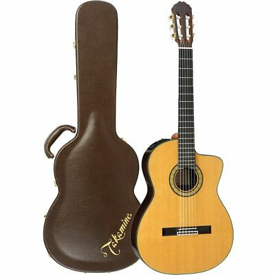 New Takamine TH5C Hirade Classical All-Solid Acoustic Electric Guitar w/ Case