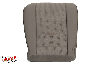 2009 Ford F250 F350 F450 F550 XLT FX4 -Driver Side Bottom Cloth Seat Cover Gray