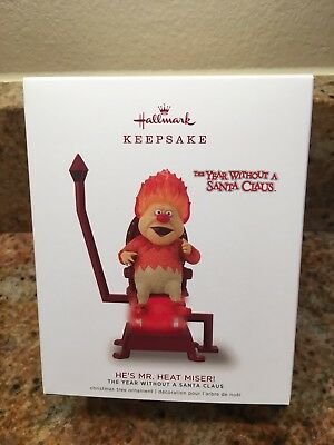 2018 HALLMARK The Year Without A Santa Claus  He's Mr. Heat Miser! Keepsake Orna
