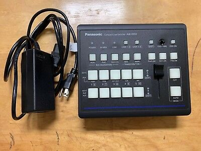 Panasonic HD AW-HS50N Compact Video Switcher AW-HS50