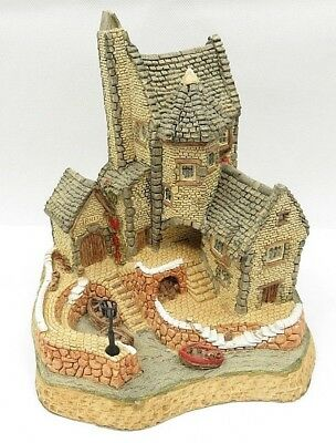 David Winter 1987 Cornish Harbour Cottage Hand Made & Painted Great Britain