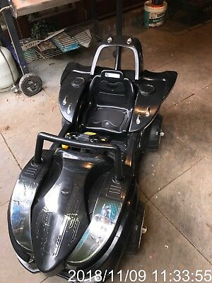 Bat Mobile Car Battery Operated Ride-Vehicle In Good Nick Working New Battery