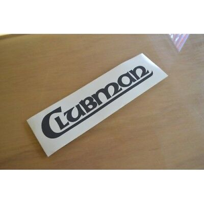LUNAR Clubman Classic Caravan Name Sticker Decal Graphic (STYLE 1) - SINGLE