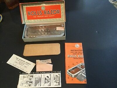 Vintage/Antique ROLLS RAZOR Imperial No. 2 Complete BRAND NEW in  Box
