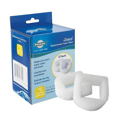 PetSafe Drinkwell Replacement Foam Filter for Pets Water Fountains PAC19-14089