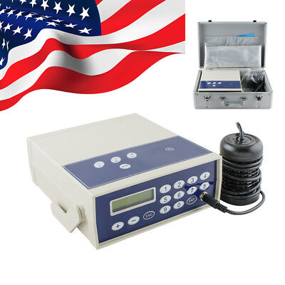 Feet Ionic Detox Foot Bath Spa Chi Cleanse Machine Far infrared Ion Cell USPS US