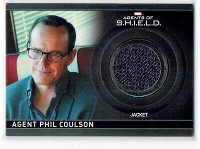 Marvel Agents of Shield CC1 Phil Coulson Wardrobe Costume Relic Card /350