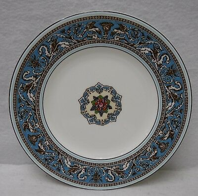 WEDGWOOD china FLORENTINE TURQUOISE W2714 pattern Luncheon Plate - 9""