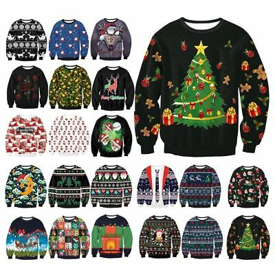 Trump Christmas Sweater.Unisex Mens Womens Ugly Christmas Sweater President Trump Xmas Knitted Pullover