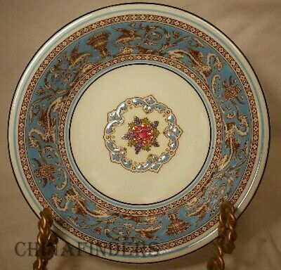 WEDGWOOD china FLORENTINE TURQUOISE W2714 pattern Cereal - Dessert Bowl - 6-1/8""
