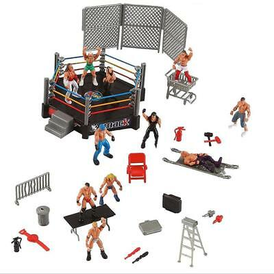 UK Wrestlers Wrestling Ring Action Figures Smack Down Royal Rumble Action Sport