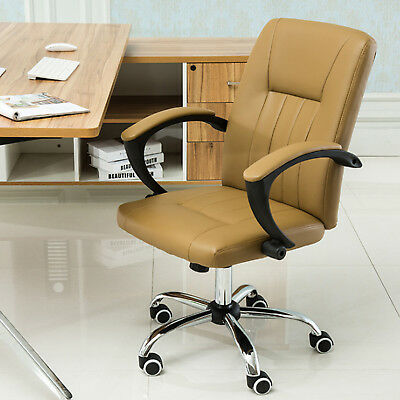 Business Office Pu Leather Executive Office Furniture Computer Desk Chair New