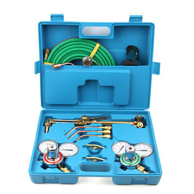 Gas Welding & Cutting Torch Kit, Professional Set, Victor Type, Carrying Case