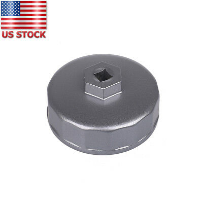 Oil Filter for Mercedes Benz VW Audi Mercury Ford 74mm 14 Flutes Wrench Cap Tool