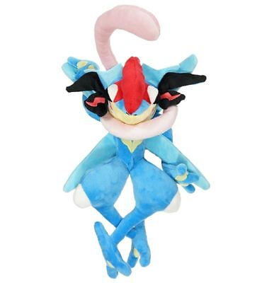 Pokemon Center Greninja Plush Doll Toy Stuffed Figure 12 inch #658 X'mas Gift