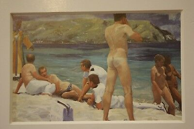 "Eric Fischl ""Largo Cults"""" Art Cologne 1984 im Passepartouts"
