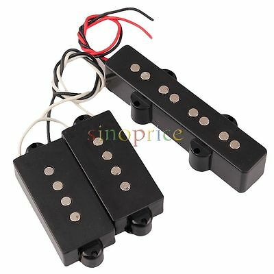 Set of PB Bridge Pickup PB Neck Pickup for 4 String JB Bass Jazz