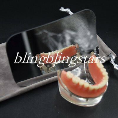 1 Pcs Dental Occlusal XL Adult Glass Mirror Orthodontic Photographic Photography