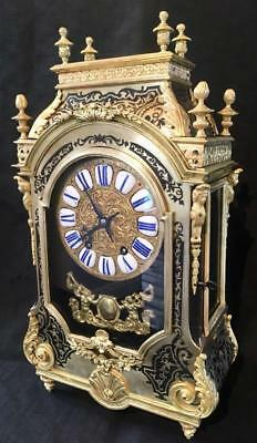 antique boulle clock Reliigieuse cased french