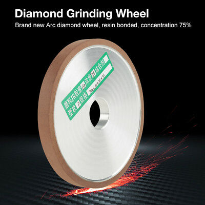 4'' 100mm Diamond Grinding Wheel Disc Cutter Grinder Polishing Grit 180/150 inm