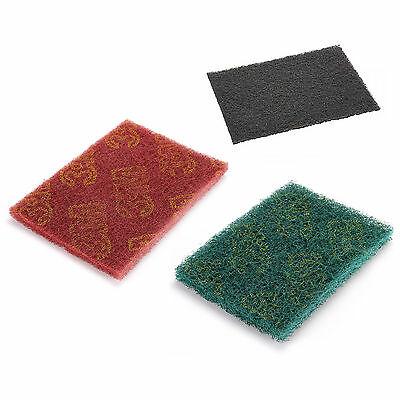 5/10/20PCS Scotch-brite Scoch Abrasive Finishing Pads Ceaning Scouring 3COLOURS