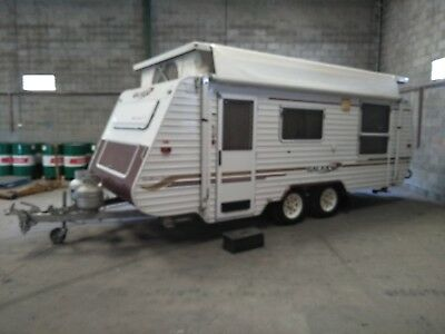Galaxy Southern Cross Poptop 2005 double bed 18 ft double axle