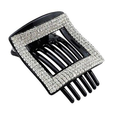 BEAUTY SQUARE HAIR Clip Smooth Hair Claw Pin for Women Kids
