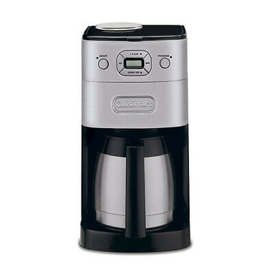 Cuisinart Grind And Brew Coffemaker Therml 10 Cup Cuisinart Grind And Brew