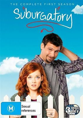 Suburgatory : Season 1 (DVD, 3-Disc Set) R-4-LIKE NEW-FREE POST IN AUSTRALIA