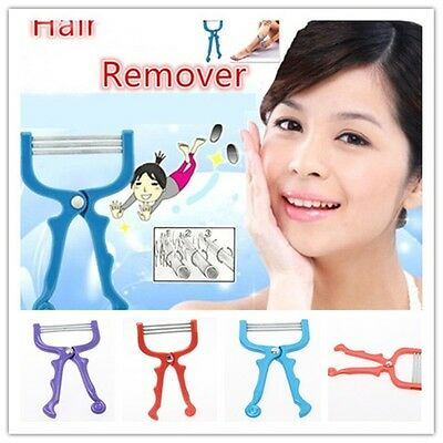 Face Facial Hair Spring Remover Stick Removal Threading Epilator Beauty Tool MA