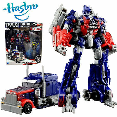 Transformers Optimus Prime Mechtech Hasbro Robot Truck Car Action Figure Kid Toy