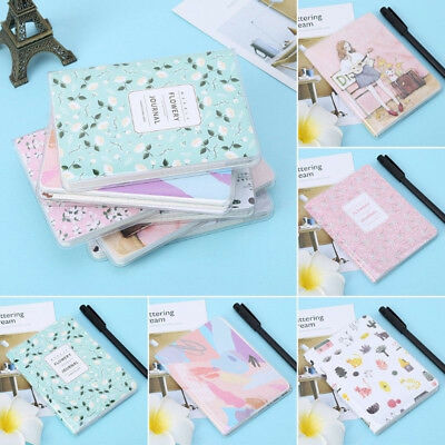 Cute Pocket Daily Weekly Monthly Planner Notebook Agenda Calendar Student supply