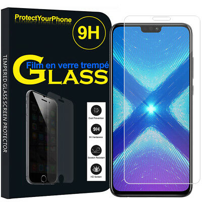Vitre Protection Écran Film Verre Trempe Huawei Honor 8X 6.5""