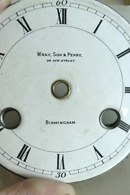 Clock Dials Faces Spare Replacement Parts Wray, Son & Perry Birmingham 12 cm