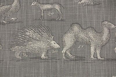 "ANDREW MARTIN CURTAIN FABRIC DESIGN /""Serengeti/"" 2 METRES MULTI LINEN BLEND"