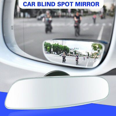 98F6 Parking Car SUV Trucks GSS Blind Spot Mirror Convex Mirrors Safety Lens