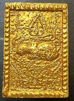 Thai Amulet-Petch Praya Throne-Ajarn Toaw-Wat Sublamyai-Lopburi-2000-powder-T 26