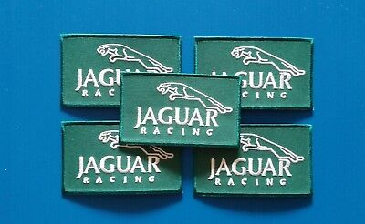 5 VALUE LOT JAGUAR RACING Easy Iron/Sew On Patches FREE SHIP