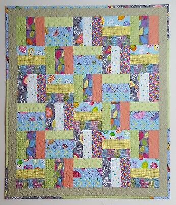 New Handmade Patchwork Baby Quilt
