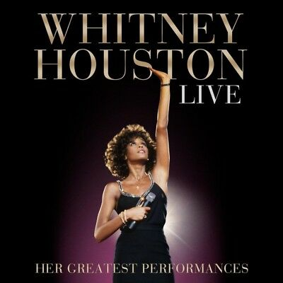 Whitney Houston - Her Greatest Performances - Live Cd Audio Musica Nuovo-199718