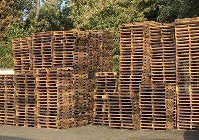 "#2 Used Recycled Wood Pallets-48"" x 40"" 4-Way Pallets $4.00 EACH"