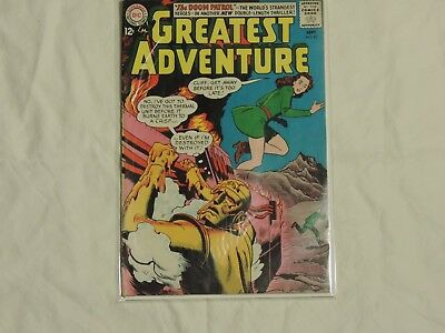 My Greatest Adventure #82 DC 1963 3rd Appearance of the Doom Patrol VG