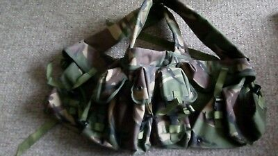 British army DPM chest webbing belt all in one 5 pouches